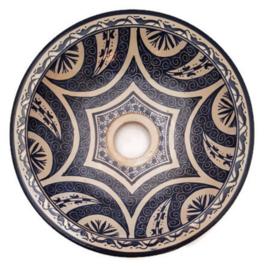 Marokkaanse wastafel - 30 cm | Baraka