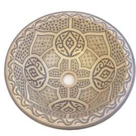 Marokkaanse waskom - 40 cm | Medina