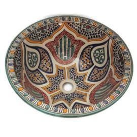 Marokkaanse waskom - 40 cm | Fantasia