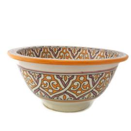 Marokkaanse waskom - 40 cm | Sahara