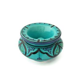 Asbak Safi L  - turquoise/aqua
