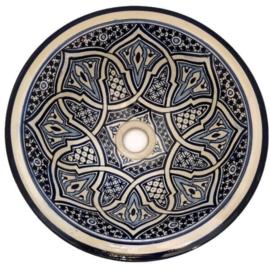 Marokkaanse waskom - 35 cm   Bahia
