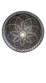 Marokkaanse waskom - 40 cm   Zahra