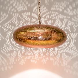Hanglamp filigrain - ufo   koper
