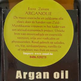 Arganolie Culinair 250 ml.
