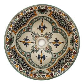 Marokkaanse waskom - 30 cm   Fantasia