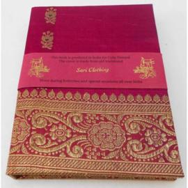 Gebonden notitieboek - Sari kaft