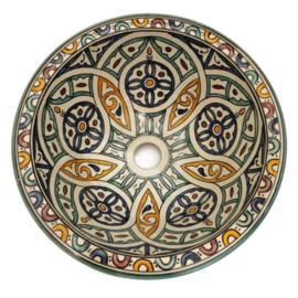 Marokkaanse waskom - 30 cm   Mandala