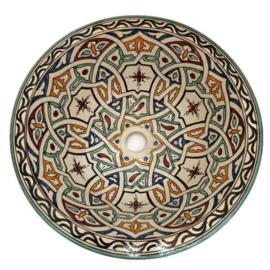 Marokkaanse waskom - 40 cm   Ibiza