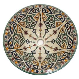 Marokkaanse waskom - 40 cm   Fantasia