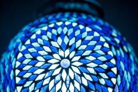 Hanglamp - Papaja | Glasmozaiek | Blauw