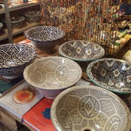 Marokkaanse waskom - 35 cm | Sahara