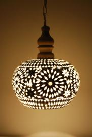 Hanglamp Open - L | zwart wit
