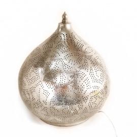 Tafellamp filigrain - klein | zilver