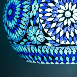 Hanglamp Open - blauw