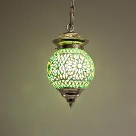 Hanglamp S - Glasmozaiek | groen