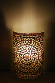 Wandlamp - Glasmozaiek | paars