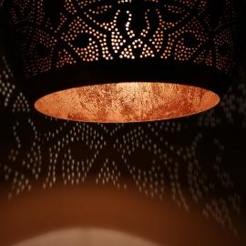 Hanglamp filigrain - bol | koper