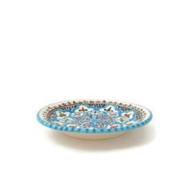 Bord turquoise blue fine - 20 cm