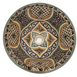 Marokkaanse waskom - 40 cm   Arabia