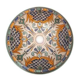 Marokkaanse wastafel - 35 cm | Beldi