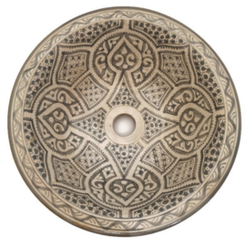 Marokkaanse waskom - 40 cm   Medina