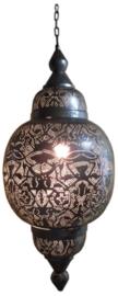 Hanglamp filigrain - arabia | vintage zilver