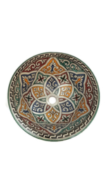 Marokkaanse waskom - 35 cm | Merzouga