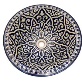 Marokkaanse waskom - 40 cm   Merzouga