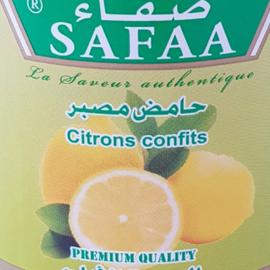 Gekonfijte citroen