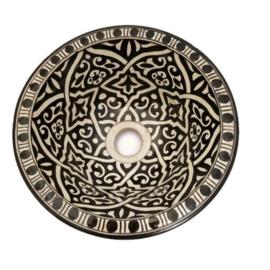Marokkaanse waskom - 25 cm   Sahara