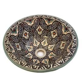 Marokkaanse waskom - 35 cm   Alhambra