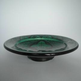Gebaksbordje - Palmforest green