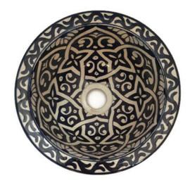 Marokkaanse waskom - 25 cm | Sahara