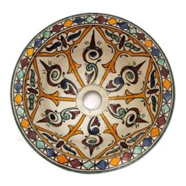 Marokkaanse waskom - 25 cm   Fantasia