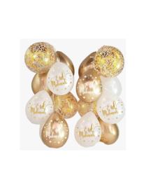 Ballonnen | Eid mubarak - wit