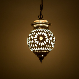 Hanglampen S - Glasmozaiek | Ivan