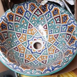 Marokkaanse waskom - 40 cm | Merzouga
