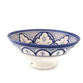 Saladeschaal - L | 'Delfts blauw'