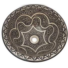 Marokkaanse waskom - 40 cm | Ethnic Chic