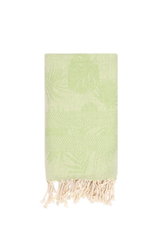 Hamamdoek | Palmbladeren | groen