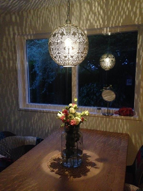 Hanglamp uit 1001-nacht...
