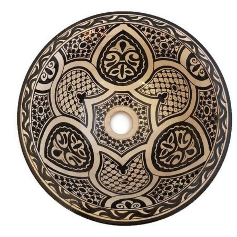 Marokkaanse waskom - 35 cm | Zagora