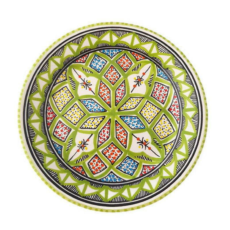 Bord pistache - 20 cm