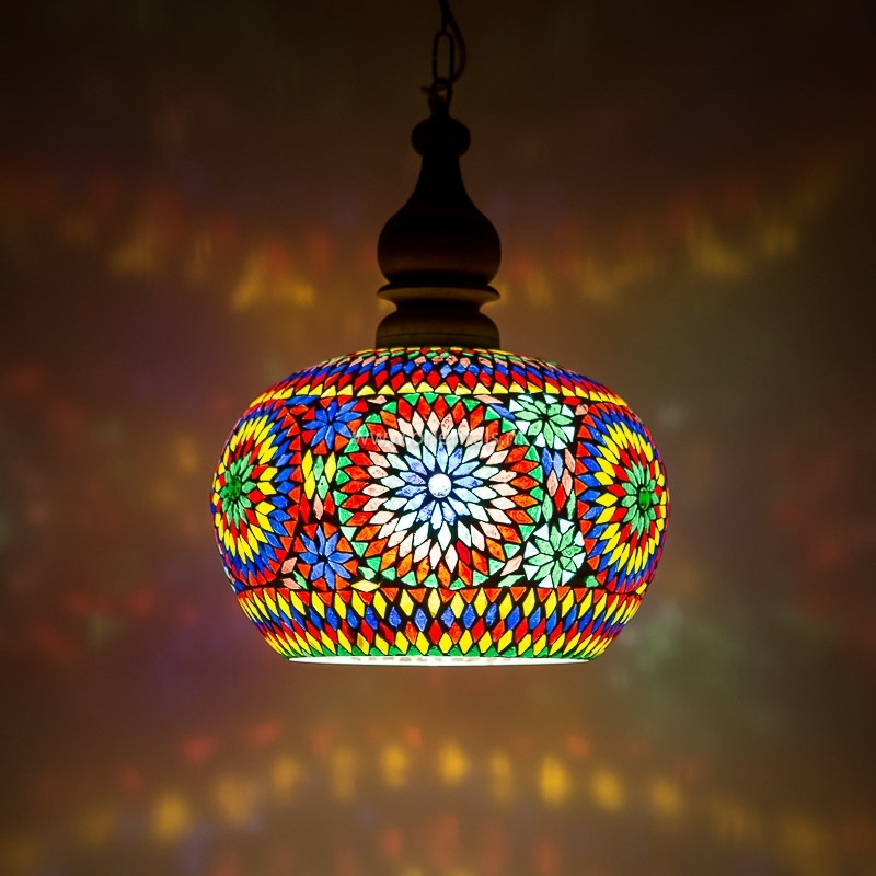 Hanglamp Open - M | multicolor