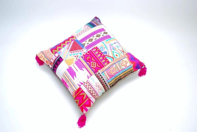 Gypsie sierkussen | Bohemian Pink | 50 x 50 cm