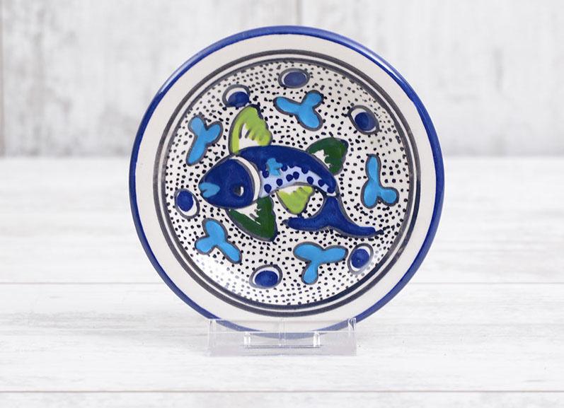 Gebaksbordje - vissen - 15 cm