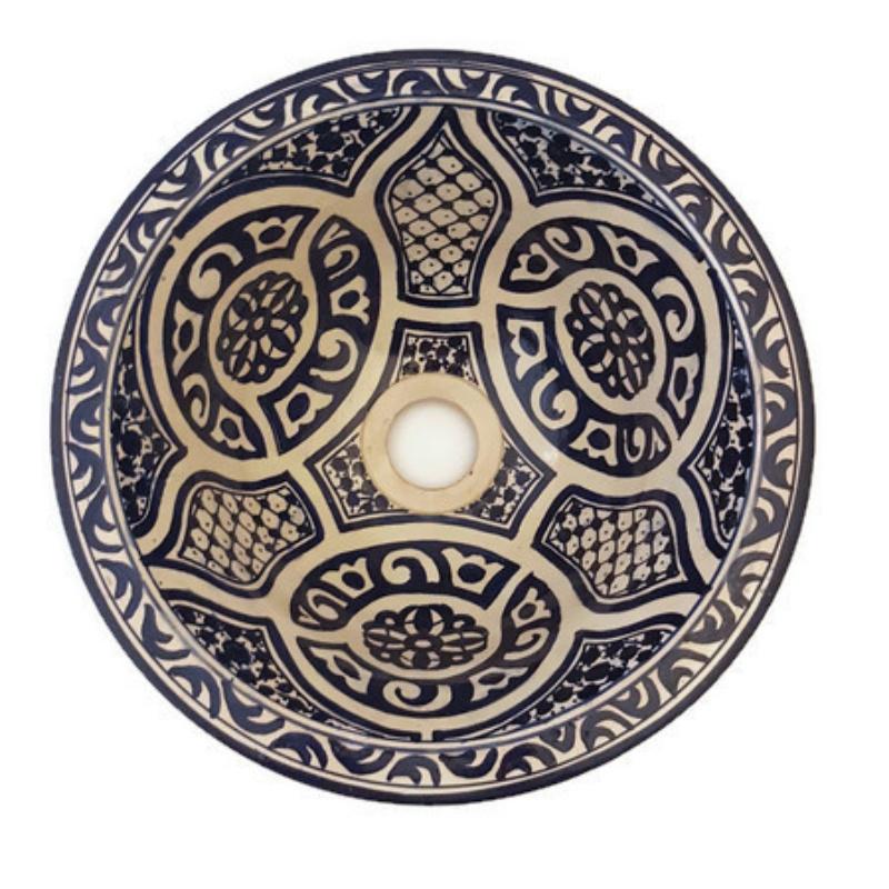 Marokkaanse waskom - 30 cm | Bahia