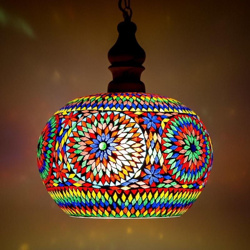 Hanglamp Open - L | multicolor