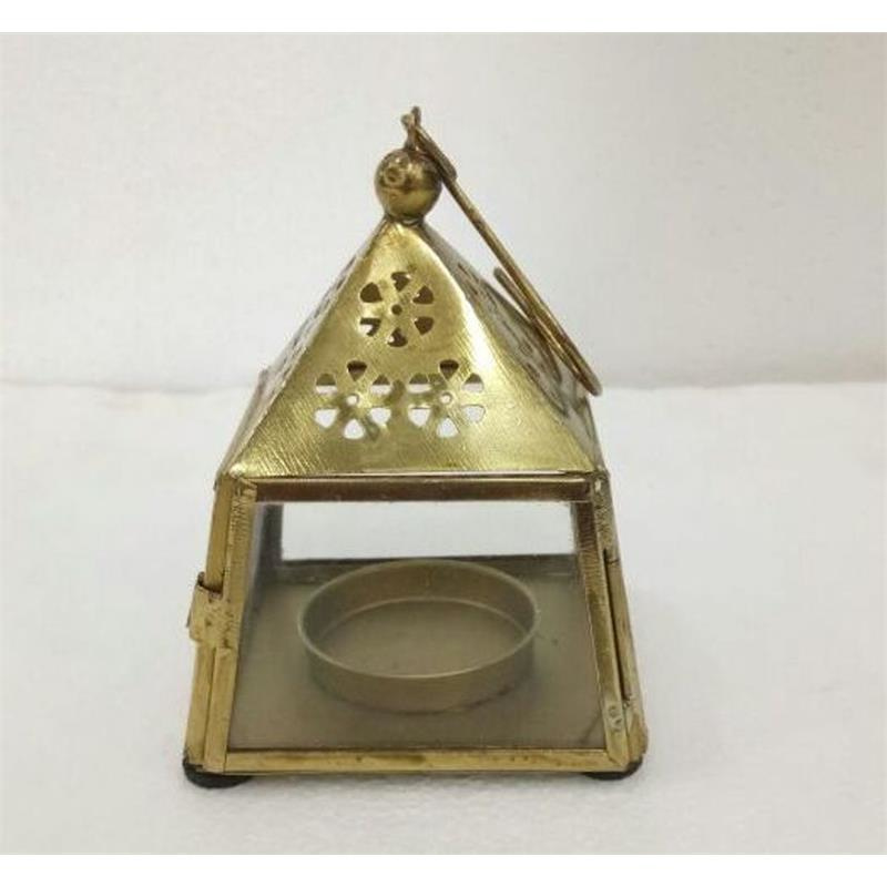 Lantaarn - goud | Madras - naturel